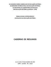 XI Seminário Internacional de Educação Histórica